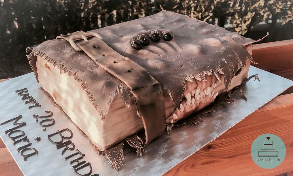 Motivtorte Zum Geburtstag Harry Potter Torte Monster Book