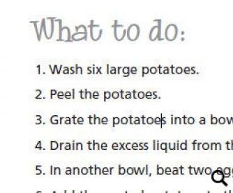 Potato Latkes Hanukkah Recipe Worksheet Hanukkah Hanukkah Food
