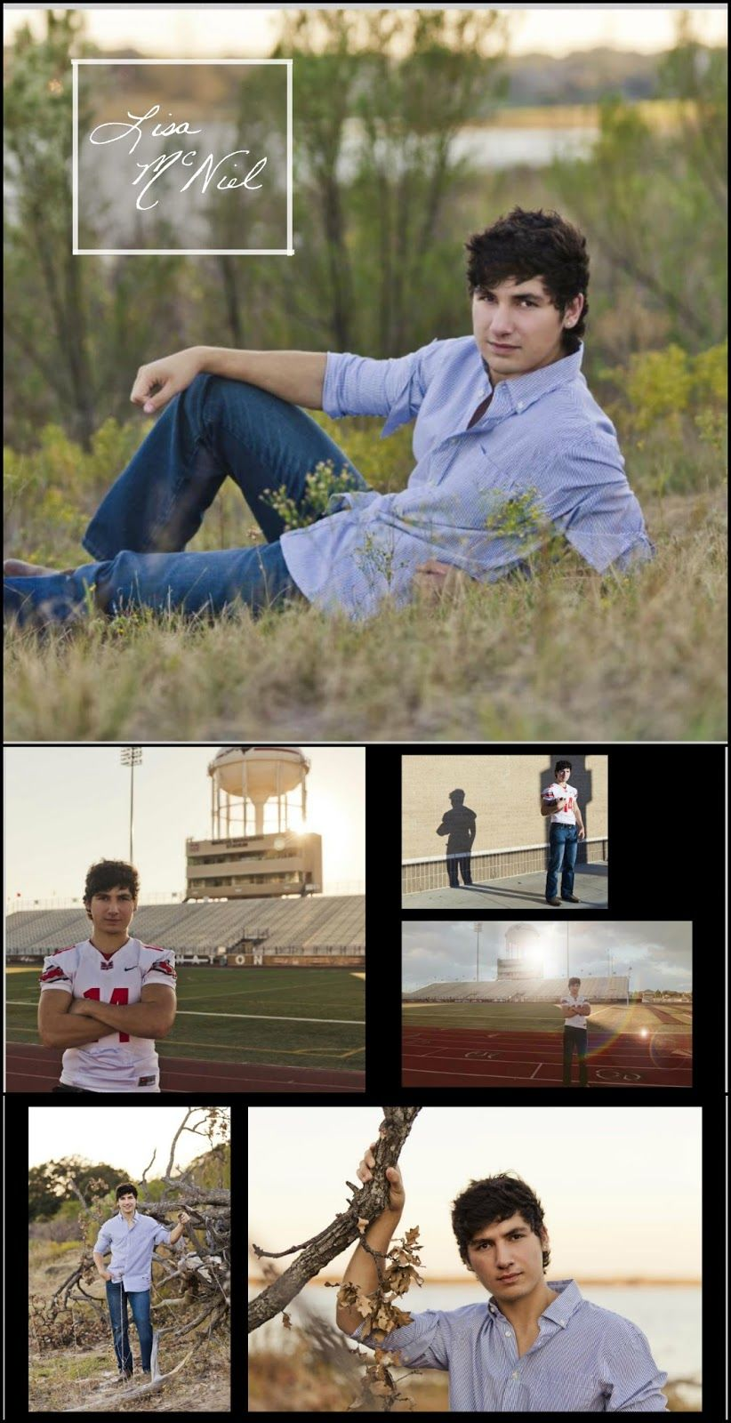 Senior pictures for boys by Flower Mound photographer Lisa