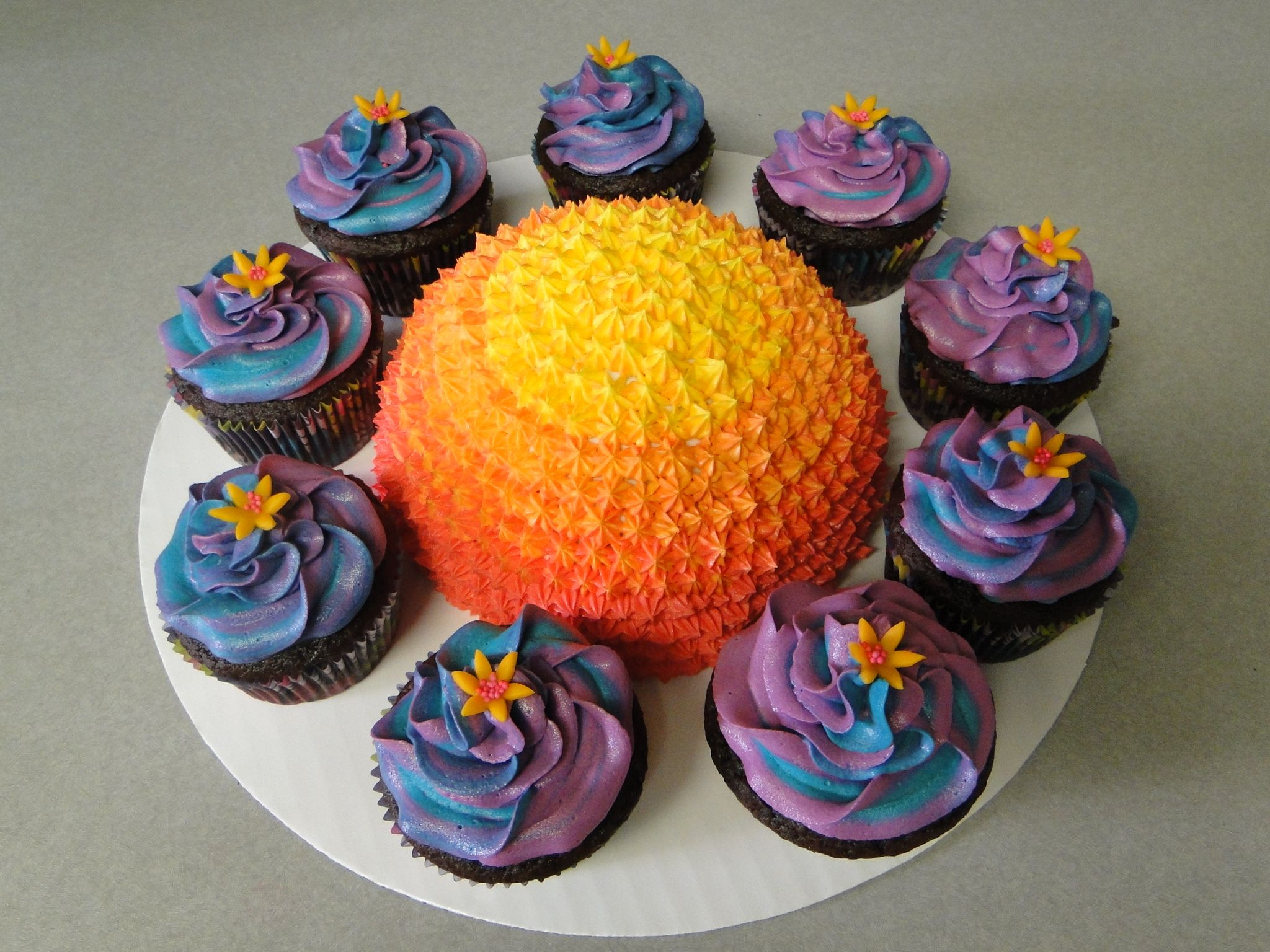Sun And Planets Cake