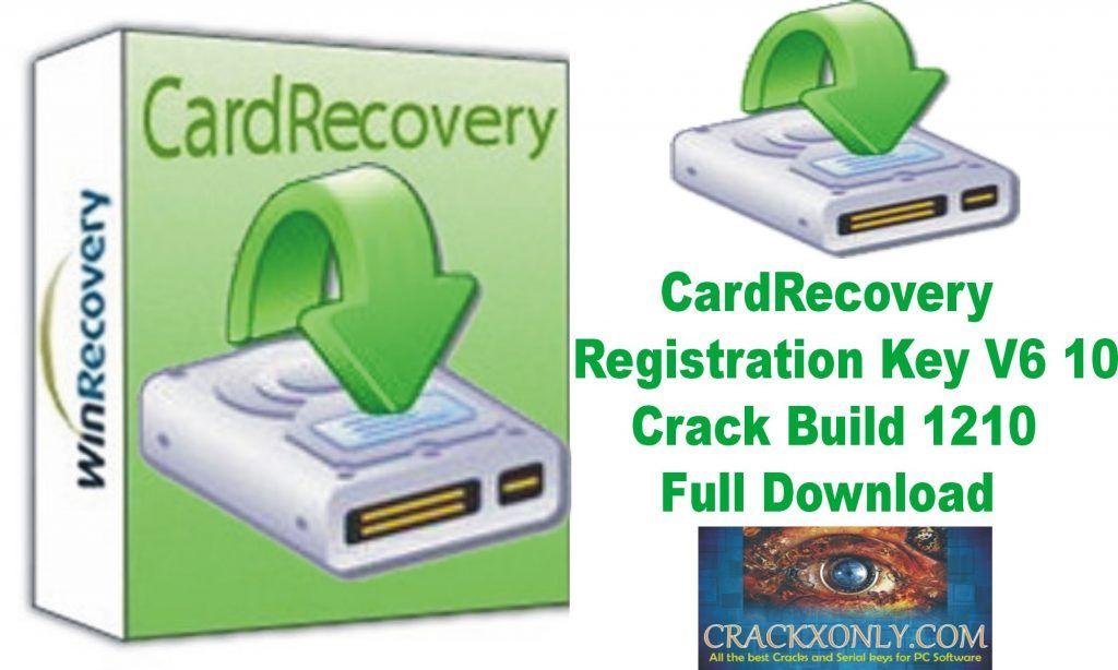 cardrecovery v6 10 build 1210 registration key free