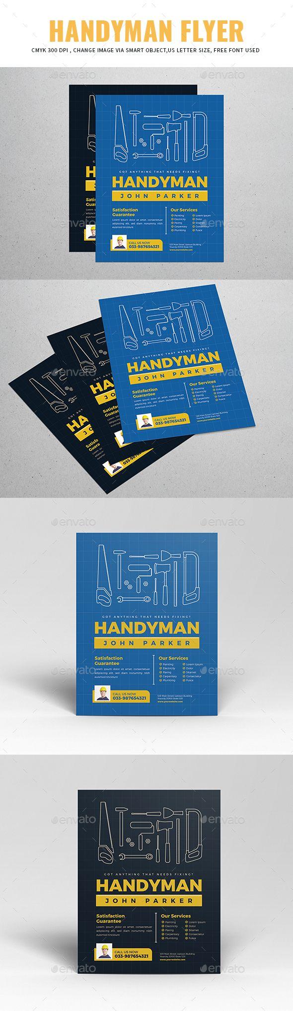 Handyman Flyer Flyers Print Templates Download Here Https