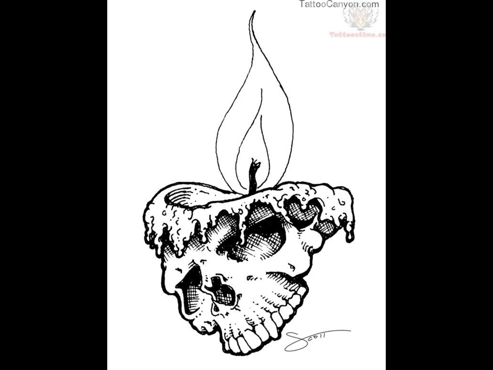 13290 melting skull candle tattoo design tattoo design 1600x1200 jpg ripped skin skull. Black Bedroom Furniture Sets. Home Design Ideas