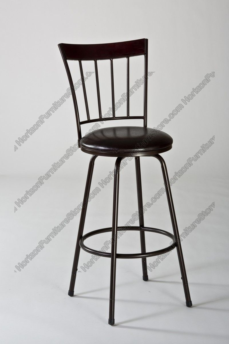 2b38adbfc2d52d Hillsdale Cantwell Swivel Counter/Bar Stool with Nested Leg - 5258-830S