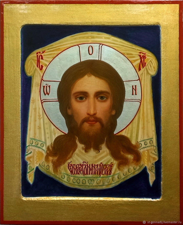 Иконы: Икона Спас нерукотворный (Образ Господень На Убрусе ...