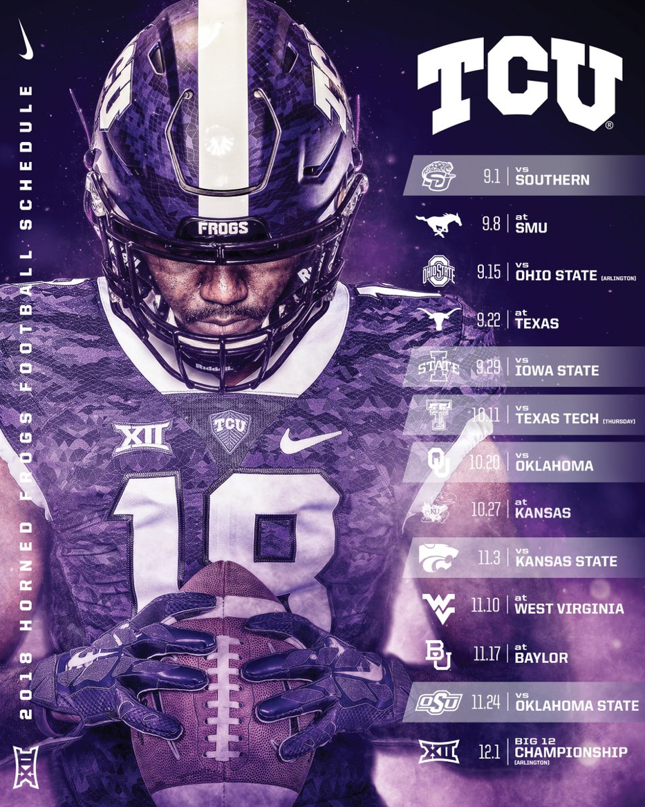 Tcu Another Beautiful Design That Would Be Used For A Phone Wallpaper Subtle Double Exposure Wi Sports Design Inspiration Sports Graphic Design Sports Design