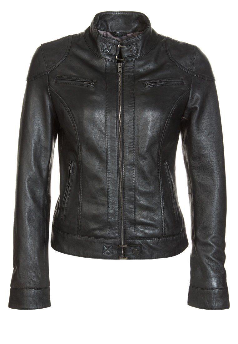 Veste zalando couleur En Sur glamrock Oakwood noir cuir 6qwaUrx6