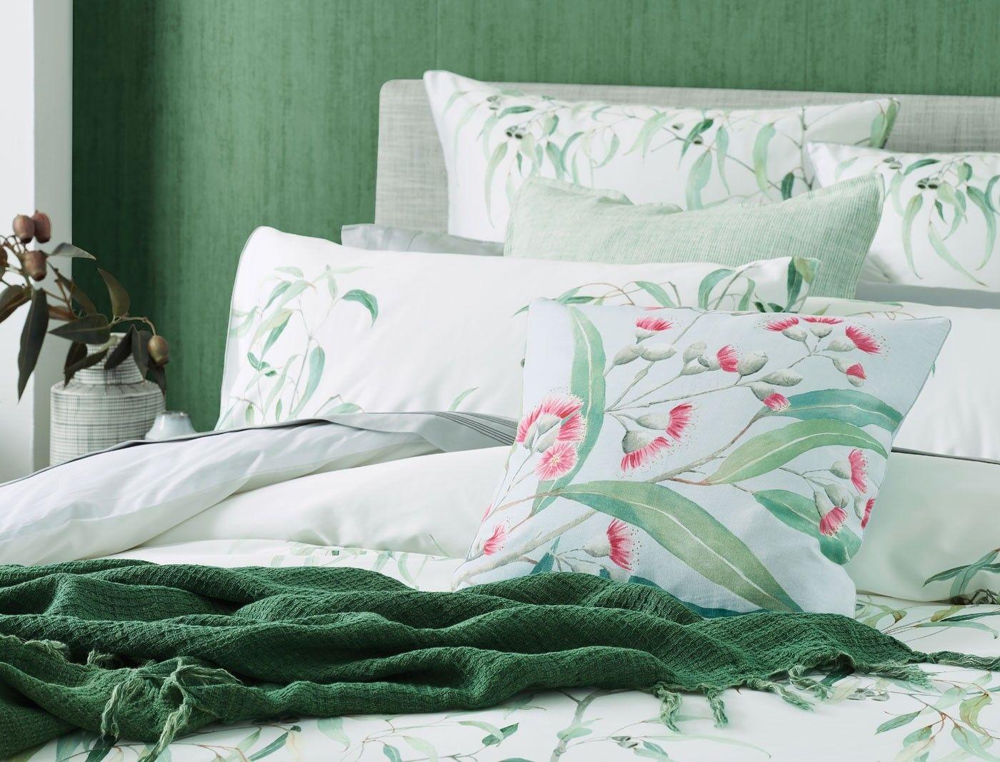 Best Eucalyptus Quilt Cover Gum Leaf Quilt Cover 400 x 300