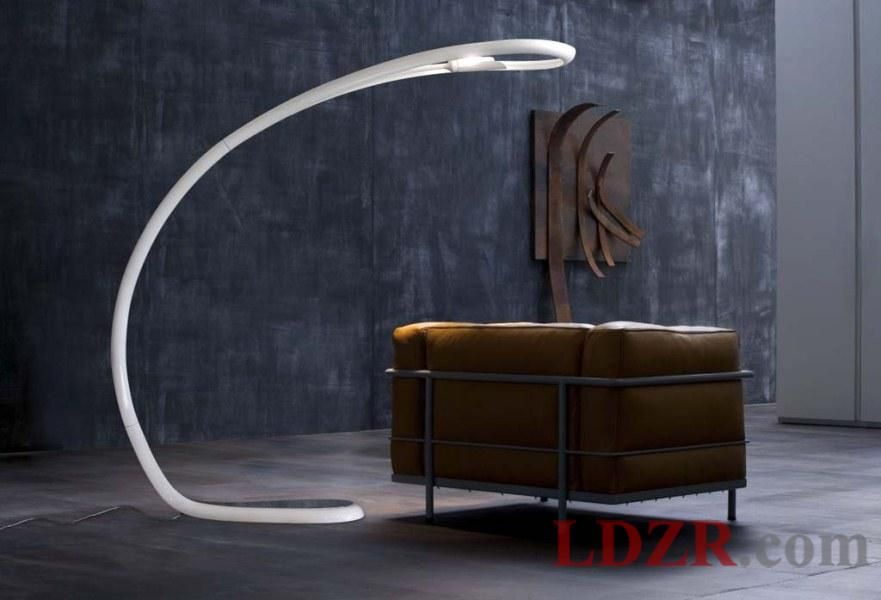 Ultra Modern Lamps Ultra Modern Floor Lamp Ideas With Futuristic Styles Unique Floor Lamps Arched Floor Lamp Curved Floor Lamp
