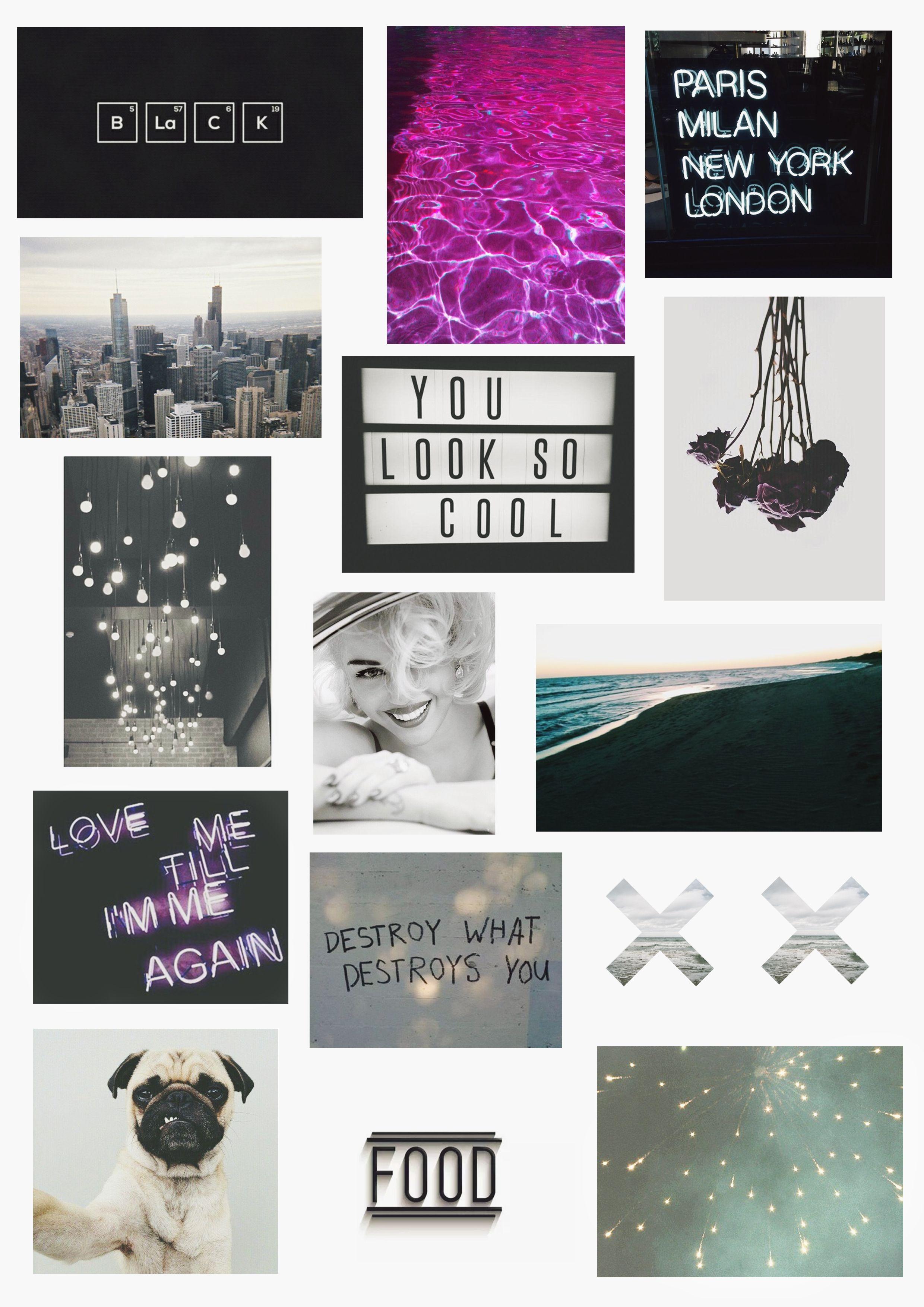 #collage #grunge #tumblr | wallpapers | Pinterest | Collage