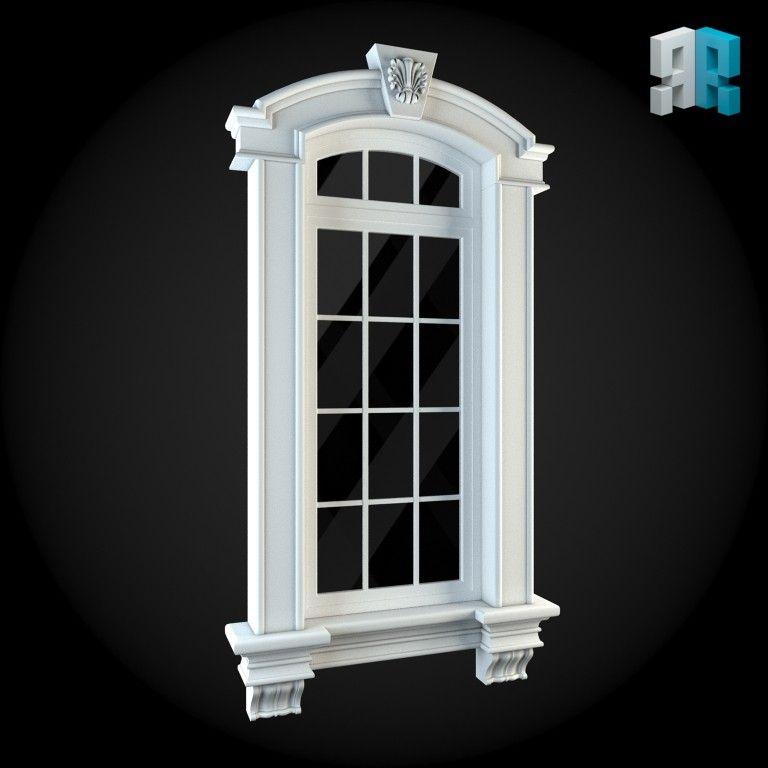 free obj mode window   Coping   Window design, House 3d