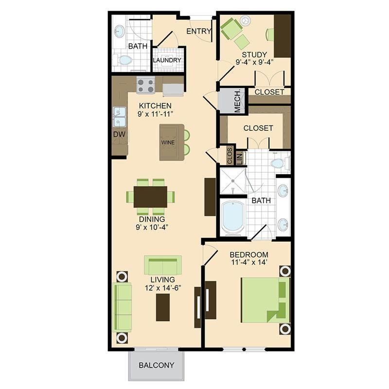 Pin by Kari Startin on Basement Apartment Ideas | Floor ...