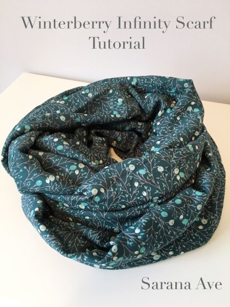 Winterberry Infinity Scarf Tutorial | Infinity scarf tutorial, Scarf ...