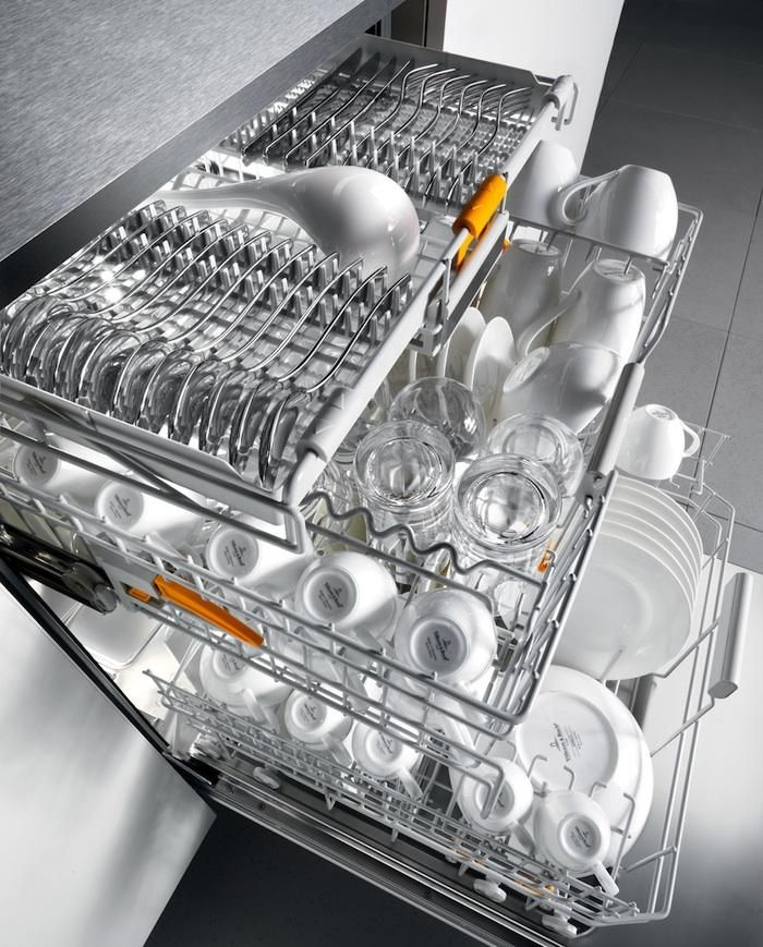 Speed Cleaning A Fast New Dishwasher From Miele Remodelista Miele Dishwasher Major Kitchen Appliances Miele