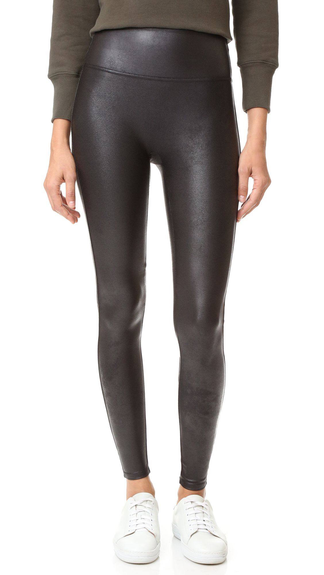 0bcc9245b2c5d Spanx Ready to Wow Faux Leather Leggings | Buy This: What You Need ...