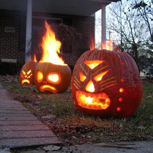 Tiki Pumpkins