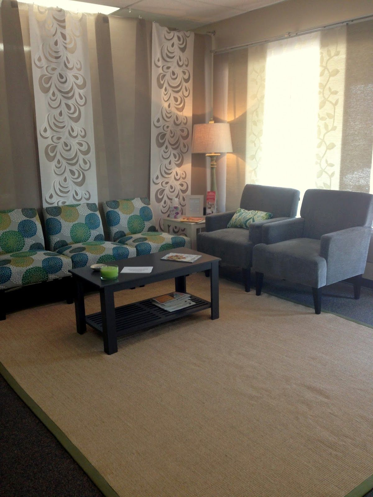 Jade star acupuncture in tucson lobby remodel with calming colors and relaxing atmosphere