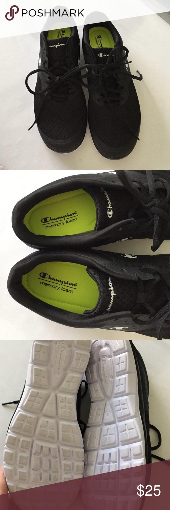 8b714fec2 NWOT size 11 champion sneakers. Never worn NWOT black champion size 11 sneakers  memory foam insole. Super comfy Champion Shoes Athletic Shoes