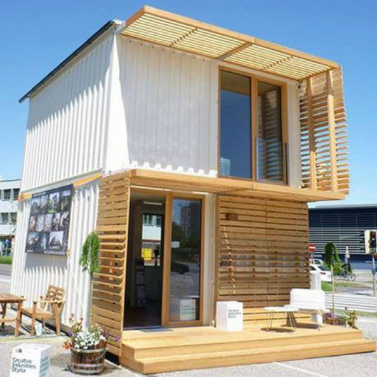 Commod Shipping Container House Container Houses Pinterest