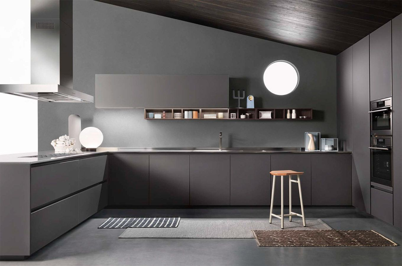 Cucine One - Cucine Moderne di Design - Ernestomeda   Decoración ...