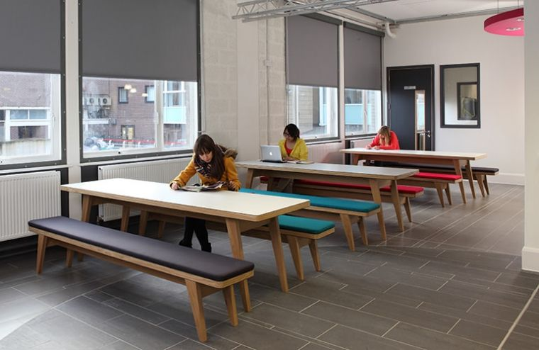 Jb osprey school canteen and study table benches