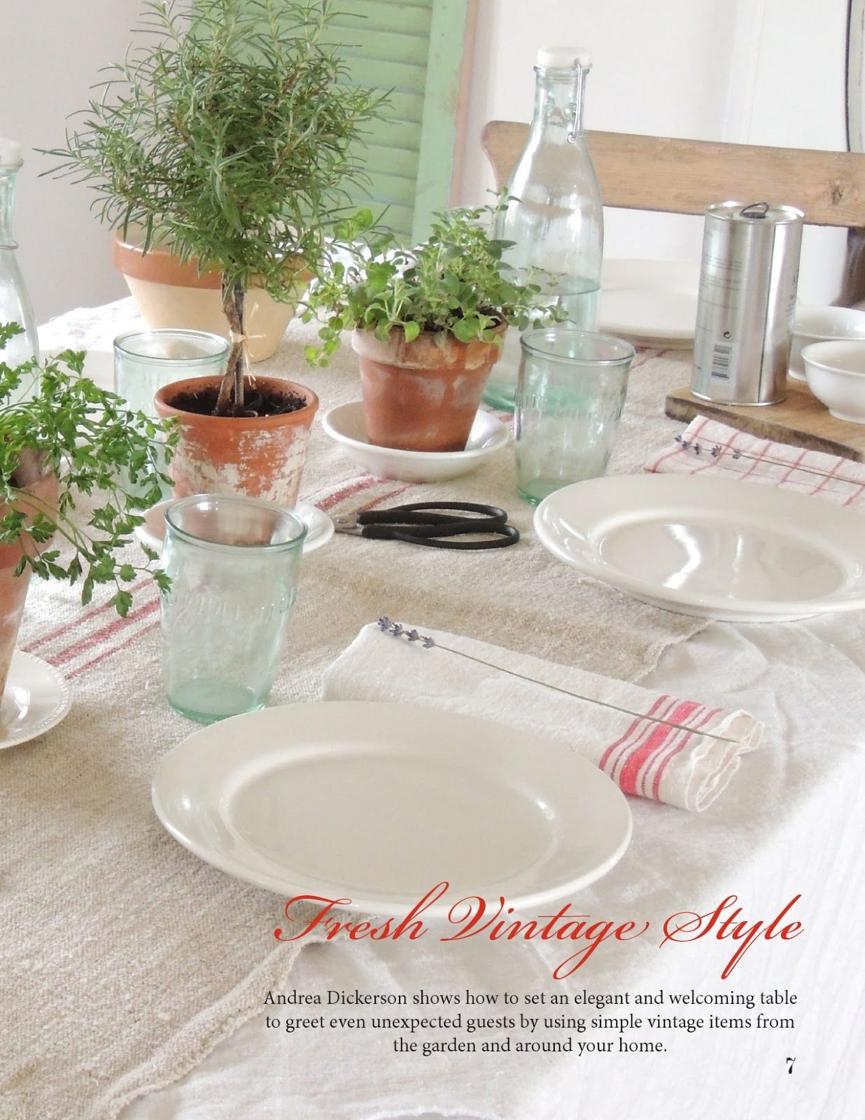 Nice table setting & Nice table setting | My dream home | Pinterest | Tablescapes Table ...