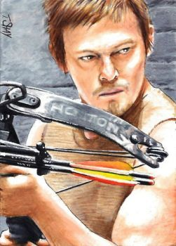 DeviantArt: More Like the Walking dead - Daryl Dixon by the-ChooK
