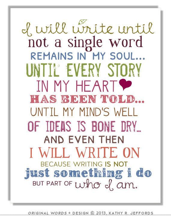 write on typography print motivational and inspirational writing quote art print for writers perfect gift for those who love writing