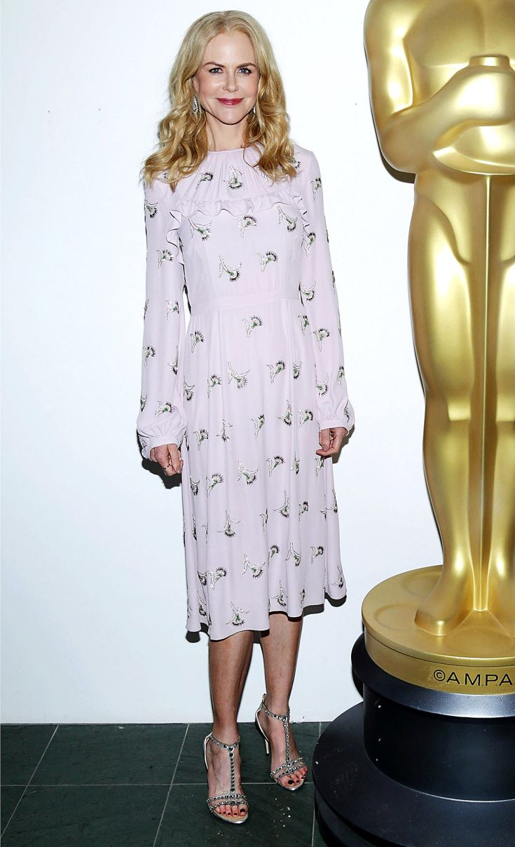 Nicole Kidman looks ethereal in a lavender dress we want