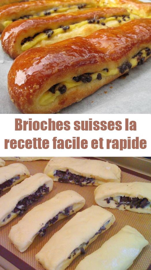 Brioches suisses : la recette facile et rapide