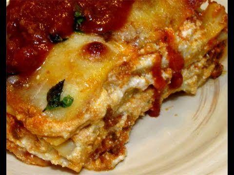 "How to Make Classic Italian Lasagna Recipe by Laura Vitale - ""Laura In T..."