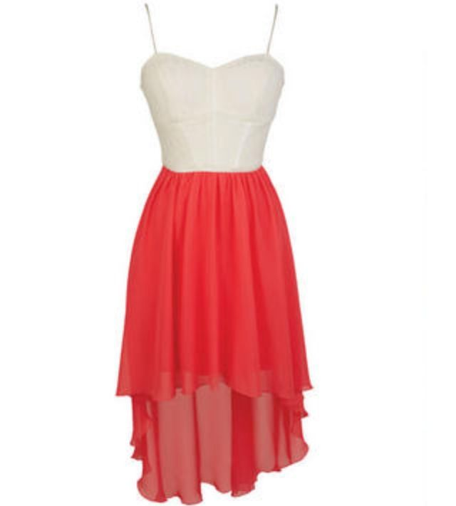 high low dress from delias.♡ the dress i got for my schools dance ...