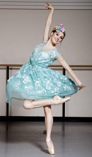 New York City Ballet's Tiler Peck in Marc Jacobs