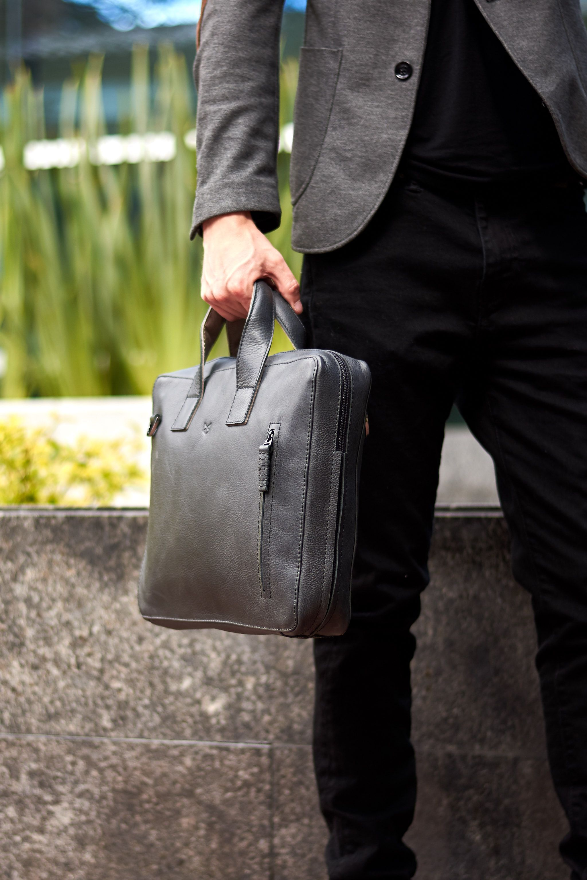 05f8a74dd4b8 Roko Briefcase · Black | Leather Goods for the Modern Men ...