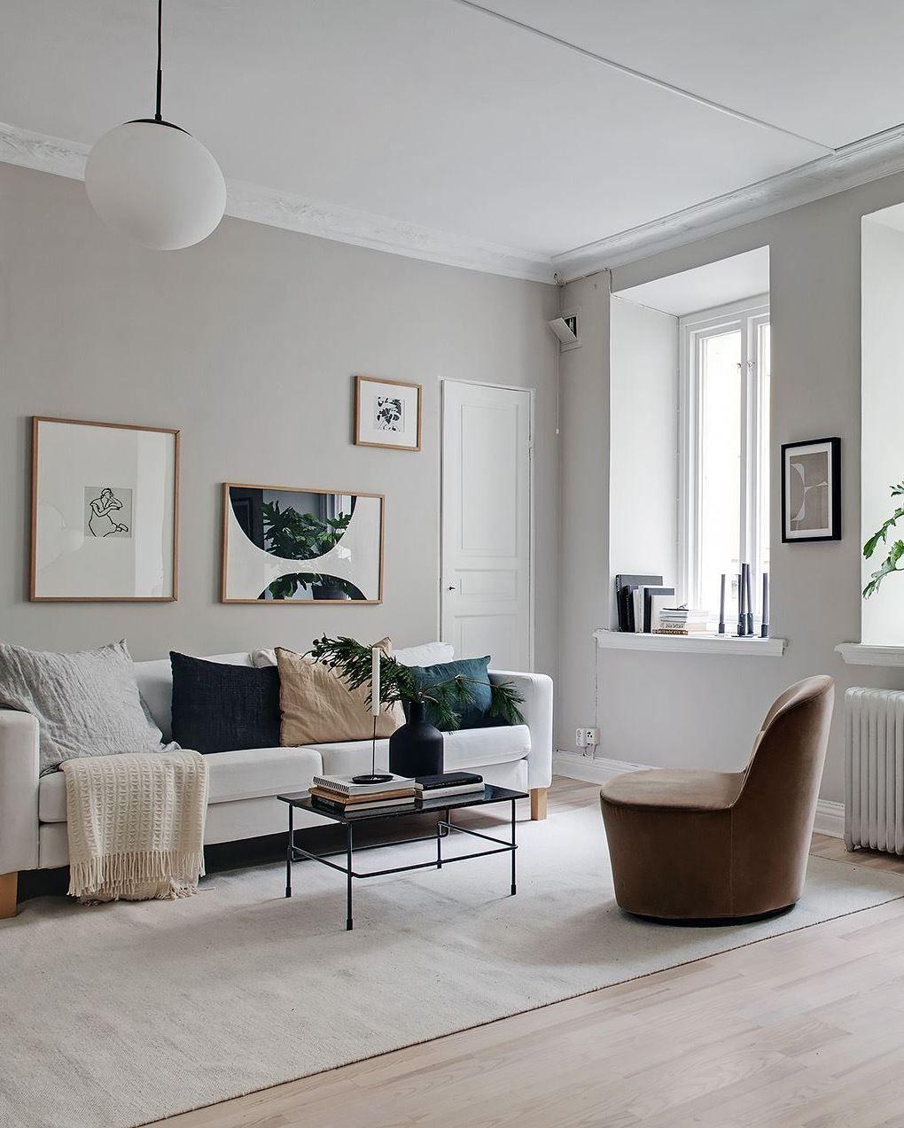 Stylish beige studio home