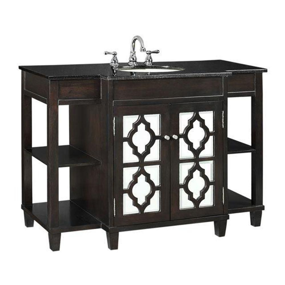 Give Your Bath Decor A Fun Sophisticated Look With The Reflections Bath Vanity This Contemporary Granite Vanity Tops Home Decorators Collection Bath Vanities