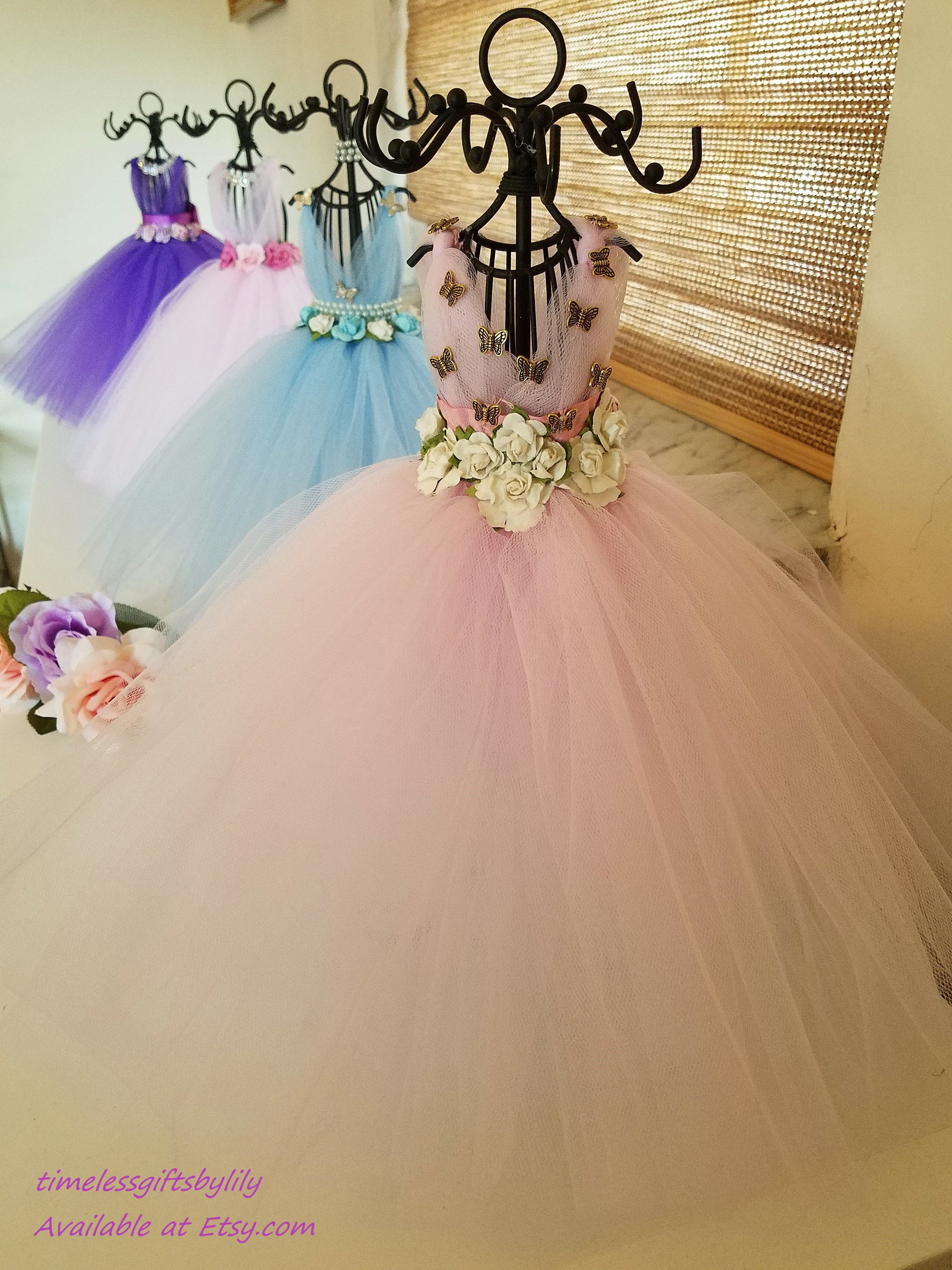 Wedding dress centerpiece  Beautiful and functional Wonderful Gift for a Wedding Bridal