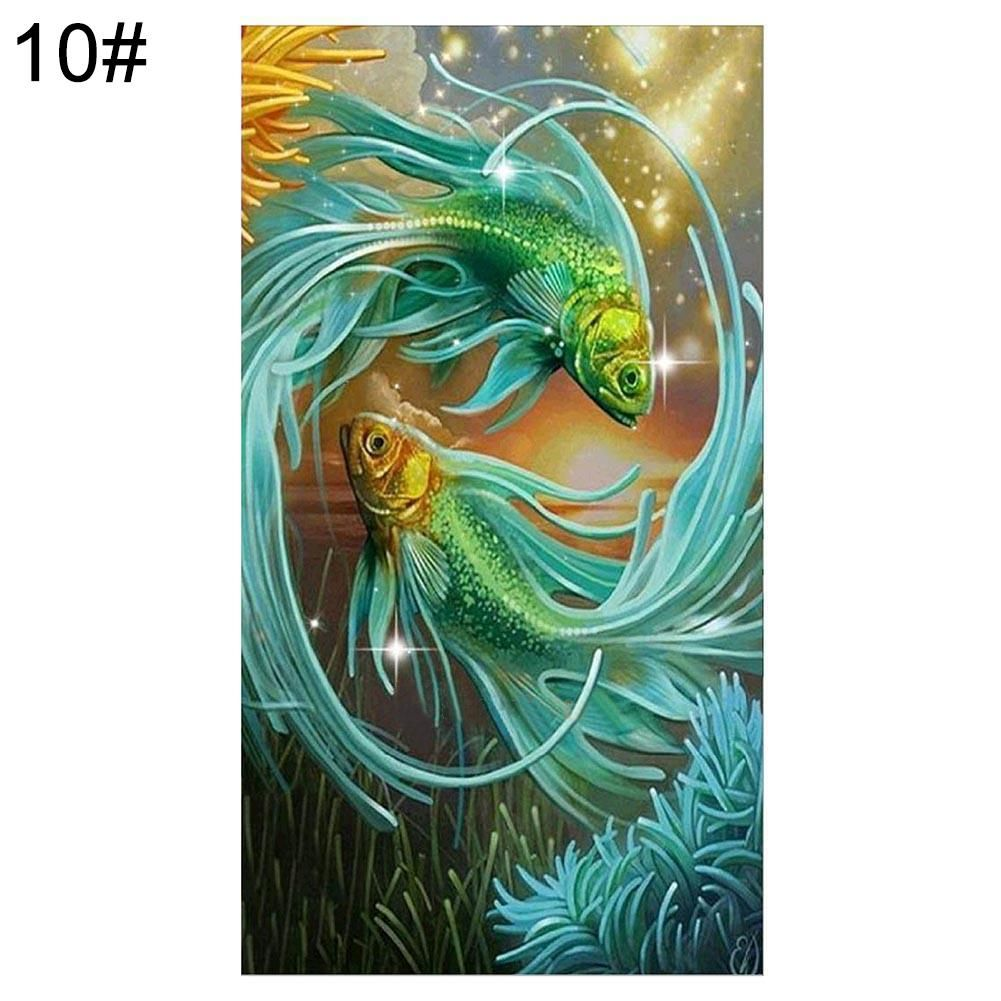 Photo of 5D DIY Diamond Painting Flower Tree Embroidery Cross Art Craft Stitch Home Decor – as the picture aj