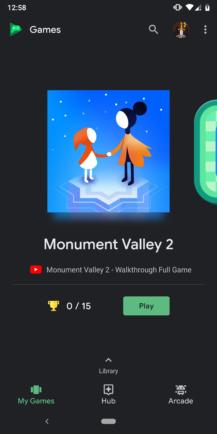 Google Play Games v5 14 enables Dark Theme for all, prepares