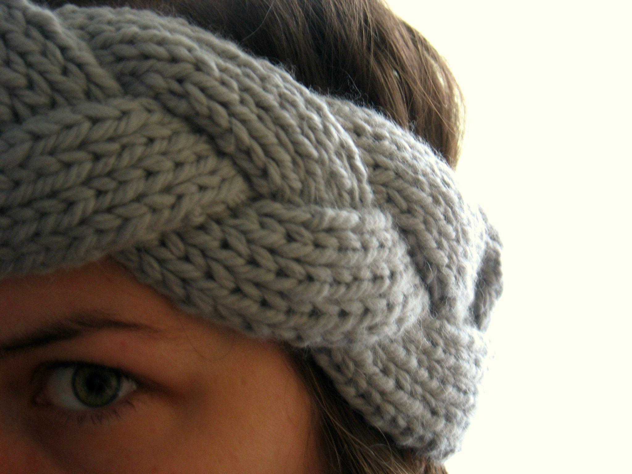 tricoter headband
