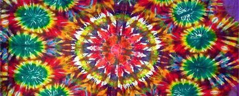 ☮ American Hippie Art ~ Facebook Cover .. Psychedelic