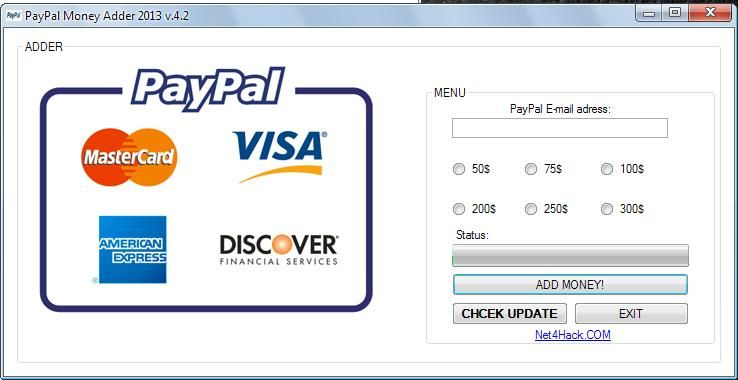Free Paypal Account With Money Visa Card In 2021 Paypal Money Adder Money Generator Paypal Cash