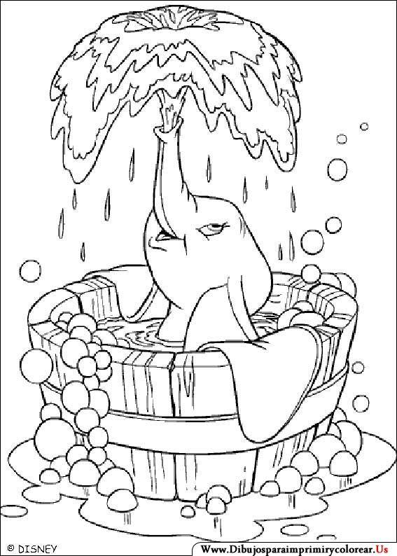 Dibujos De Dumbo Para Imprimir Y Colorear Colorear Disney Dibujo De Dumbo Dibujos Para Colorear Disney