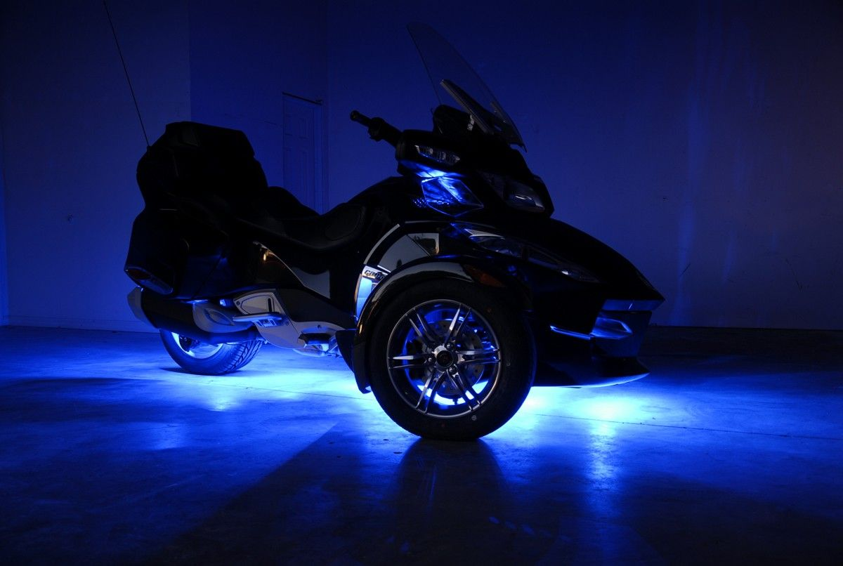 Can am spyder rts fusion 21 color led lighting system check them out here