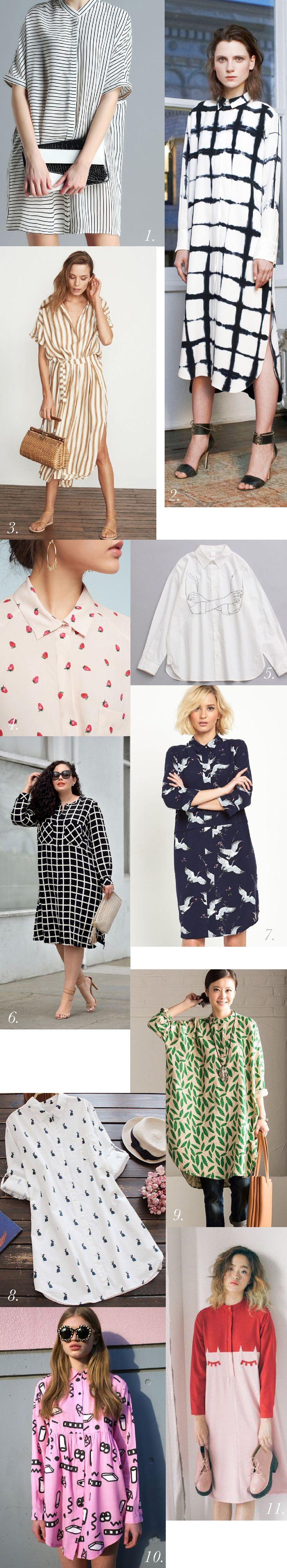 Shirtdress Inspiration & Styling // Kalle Sewalong | moda casual ...