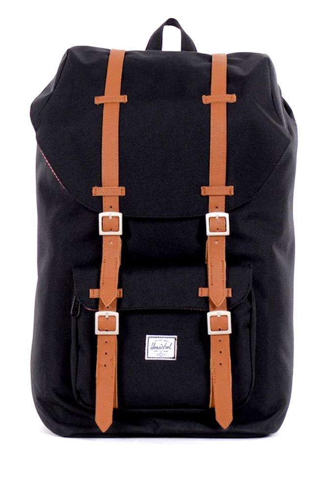 4e97a2c53c7 Herschel Supply Co. Little America Pack in Black Herschel Backpack