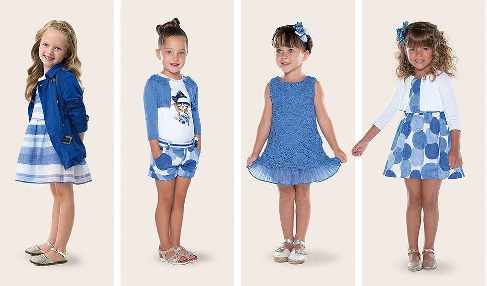ce9b50274 vestidos de verano para niñas con estampados - Buscar con Google Vestidos  De Niña 2015,