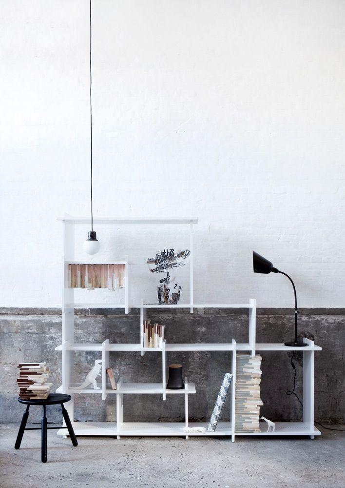 Slice KB3 Shelf System from  Design by #KIBISI. #storage #design #shelf