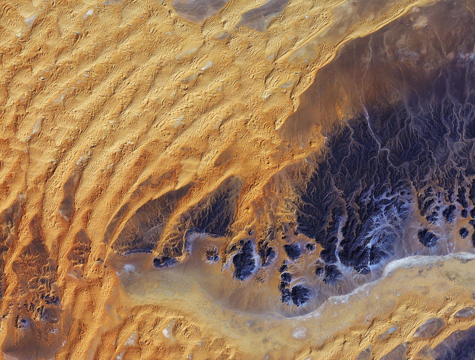 Veja imagens incríveis do deserto do Saara captadas por um satélite