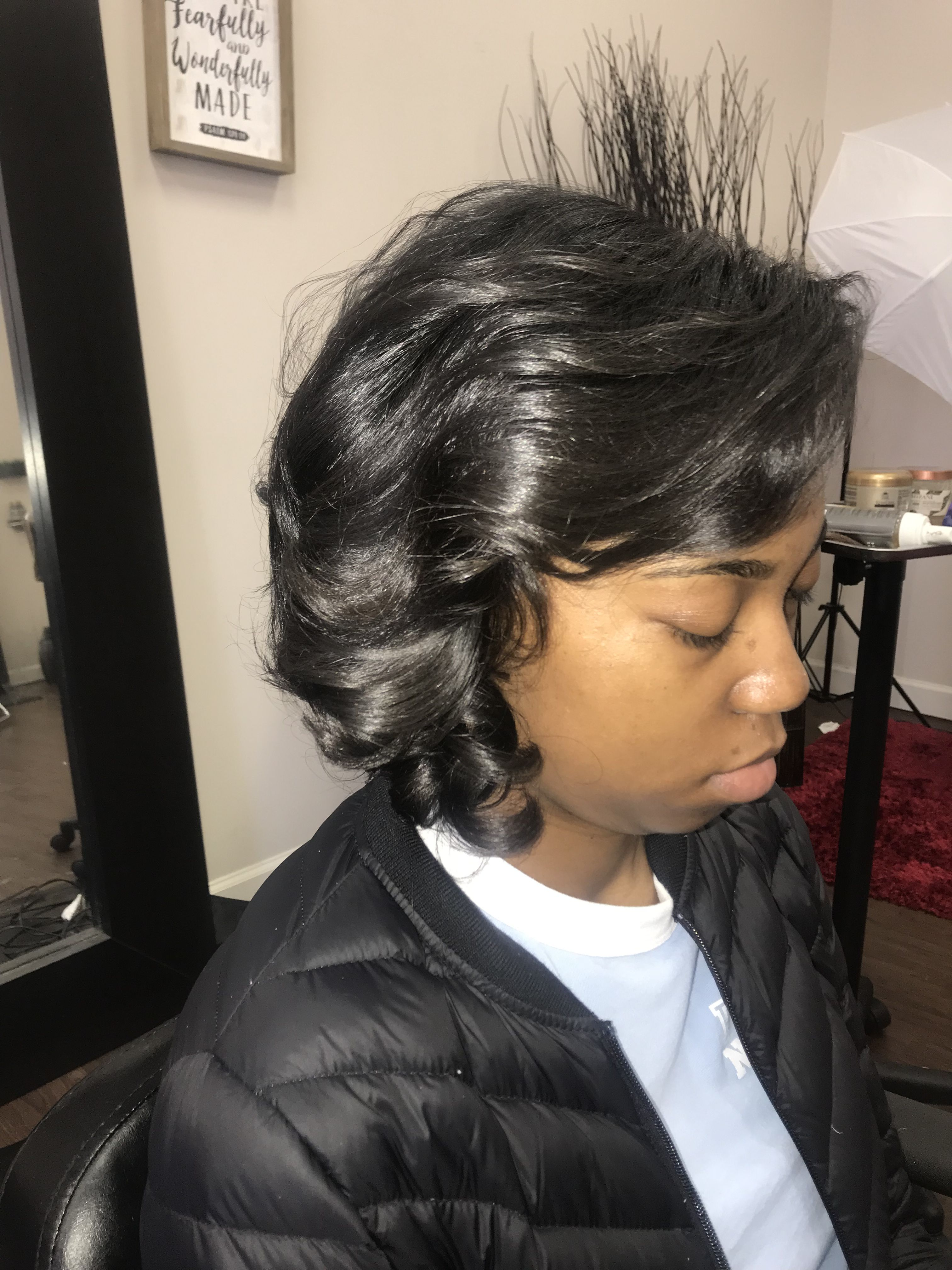 Pin By Natural Hair Rocks Salon On Hydro Ionic Silk Press Silk Press Ionic Silk